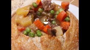 Alton Brown Beef Stew Cooked Beef Stew In Bread Bowl Recreate The Best Comfort Food In