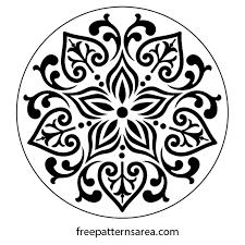 floral ornament free vector desing freepatternsarea