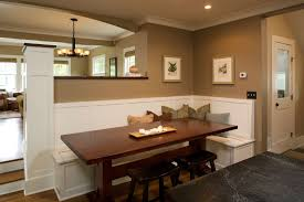 staggering counter height bench decorating ideas for dining room