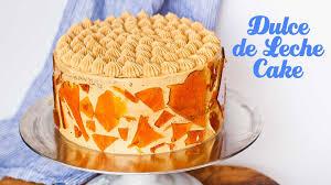 dulce de leche cake youtube