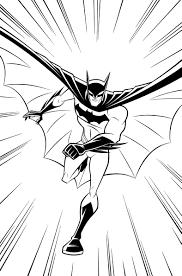 the batman coloring pages beware the batman inks by dariobrizuelaartwork on deviantart