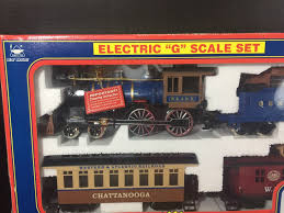 electric rail king train set by new bright no 375 g scale what u0027s