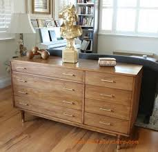 how to stain midcentury buffet with cececaldwells