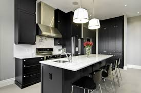 black cabinet kitchen ideas spectacular black and white kitchen ideas you can apply decohoms