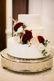 pinterest alex ramey wedding cake with flowers marsala and