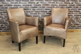 Leather Armchairs Vintage Antique Style Leather Armchair Vintage Style