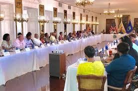 st駱hane bureau usvi cabinet convenes on st croix caribbean now