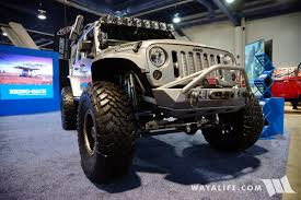 cool jeep accessories 2017 sema rhino rack ironman jeep jk wrangler unlimited