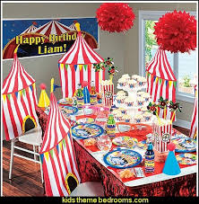 theme decorations decorating theme bedrooms maries manor circus themed party