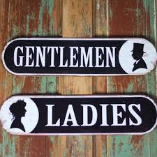 17 best restroom signs images on pinterest restroom signs