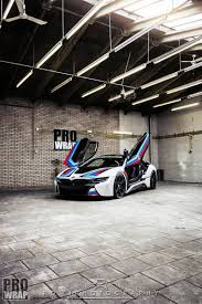 martini livery bmw custom wrapped bmw i8 by prowrap in the netherlands gtspirit