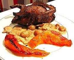 cuisine potiron recette pigeons flambés et potiron caramélisé 750g