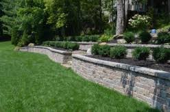 Breezewood Gardens Chagrin Falls - retaining wall breezewood gardens