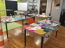 Art Studio Desk by Art Classes In Downtown Ann Arbor An Art Education Center