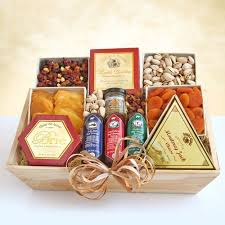 meat and cheese gift baskets meat cheese nuts gourmet gift crate by amerigiftbaskets