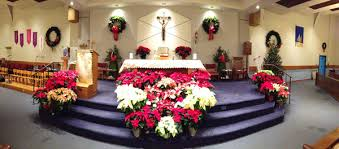 church altar decorations christmas decorations 2013 st michael the archangel