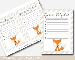 woodland fox baby food game woodland guess the baby food game