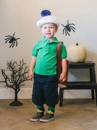 diy golfer halloween costume for kids hgtv