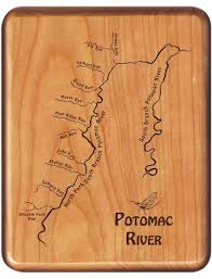 Potomac River On Map North Fork South Branch Potomac River Map Fly Box West Virginia