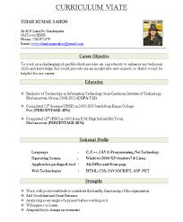 standard format resume standard format for resume for freshers free resume