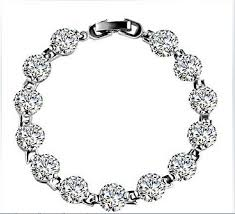 best wedding anniversary gifts 1 carat excellent design real sona synthetic diamonds bracelet