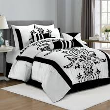 Black And White Furniture by Black And White Bedroom Comforter Sets Photos And Pertaining