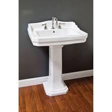 Pedestal Sink Strom Plumbing Deco Pedestal Sink P1052 Vintage Tub
