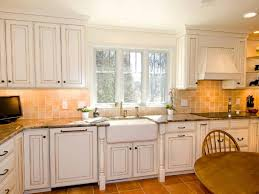 Kitchen Cabinet Paint Colors Pictures White Wall Color With Classic Kitchen Cabinet Using Beige Ceramic