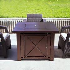 fire pit table ebay