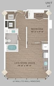 1 Bed 1 Bath House E Lofts Apartment Floor Plans Luxury Apartments Just Minutes