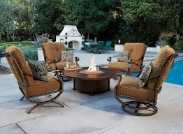 owlee luna ds firepit commercial outdoor furniture o w lee emigh s