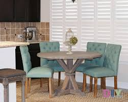 round farmhouse dining table and chairs diy round farmhouse table diy swank inside round farmhouse dining