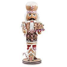 kurt adler 16 inch wooden gingerbread