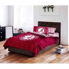 Alabama Bed Set Ncaa Of Alabama Crimson Tide Bed In A Bag Complete