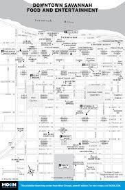 Savannah Ga Map Printable Travel Maps Of Georgia Moon Travel Guides
