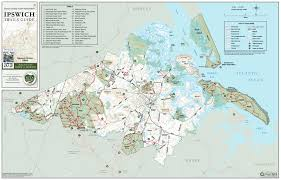 Map Of Salem Massachusetts by Buy An Ecta Trail Map Essex County Trail Association
