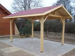 auvent en bois pour terrasse activités accrobois