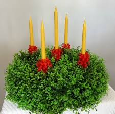 advent wreath kits large advent wreath with moravian beeswax candles kit scw600k