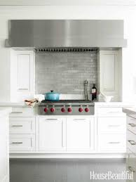 kitchen wood backsplash glass subway tile contemporary kitchen