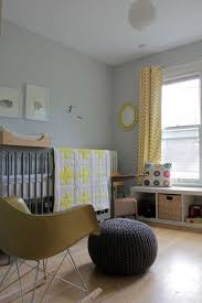 Yellow Curtains Nursery Grey And Yellow Nursery With Zig Zag Curtains Rooms Juxtapost