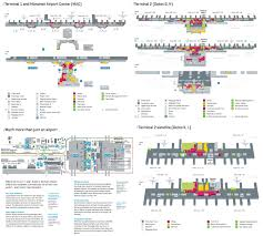 Los Angeles Airports Map by Munich Airport Map