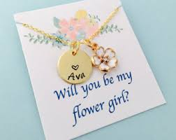 will you be my flower girl gift be my flower girl etsy