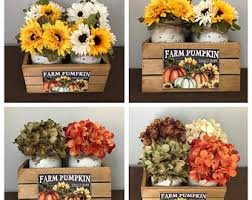 Sunflower Decorations Fall Centerpiece Fall Table Decor Fall Decor Fall