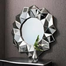 designer wall mirrors round bathroom mirrors raundin round