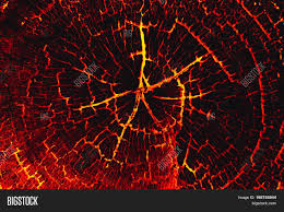 burn on wood lava burn wood texture background image photo bigstock