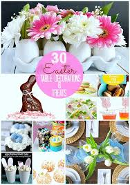 Great Ideas 30 Easter Table Setting Ideas and Treats