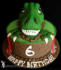 dinosaur birthday cake awesome t rex dinosaur birthday cake