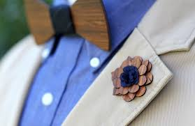 lapel flowers wooden lapel flower charleston