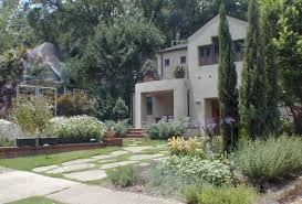 Landscape Curb Appeal - front yard pathway flanked with flowers improve your home s curb