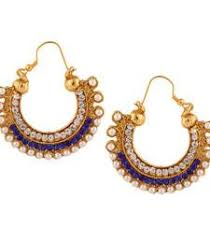 hoops earrings india buy kundan colourful pearl bali hoop earring ethnic indian